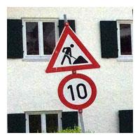 Bauarbeiter, 10 km