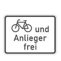 Fahrradfahren erlaubt