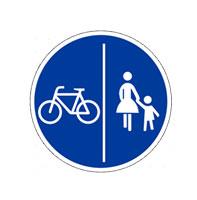Fahrrad- und Gehweg