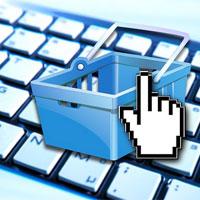 Einkauf im Internet